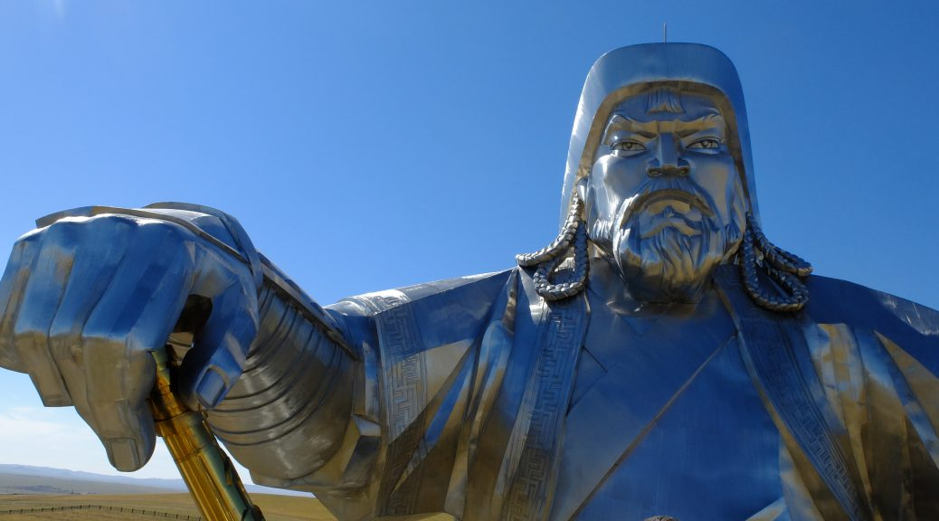 Standbeeld van Djengis Khan