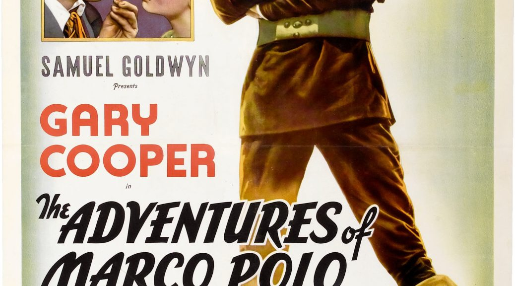 "Poster for the movie ""The Adventures of Marco Polo"""