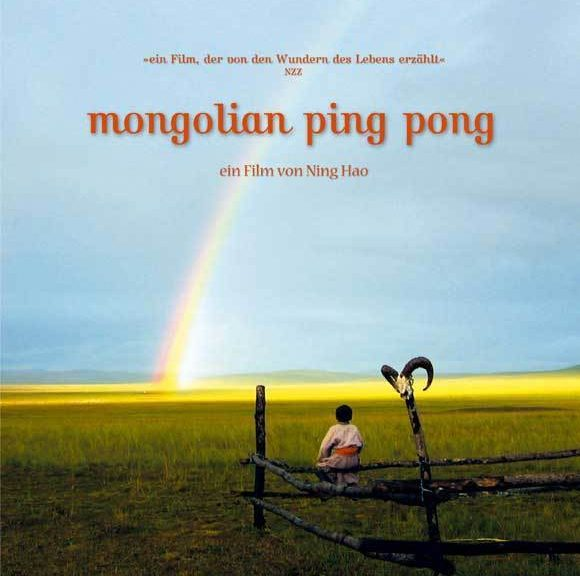 "Poster for the movie ""Mongolian Ping Pong"""
