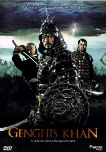 "Poster for the movie ""By the Will of Chingis Khan"""