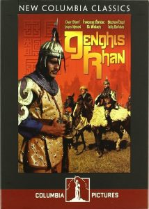 "Poster for the movie ""Genghis Khan"""